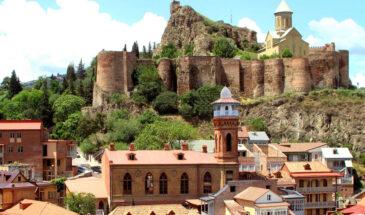 Stare miasto w Tibilsi