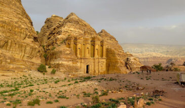 Petra, Grobowiec Faraona