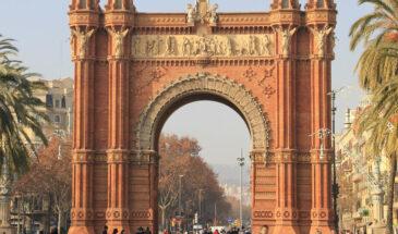 Barcelona, Łuk Triumfalny